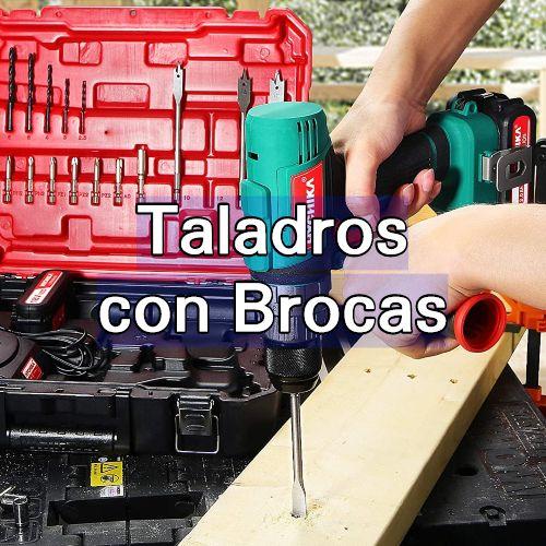 taladros con brocas